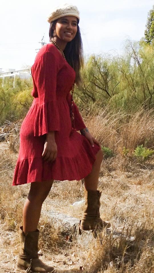 Vestido Tentación rojo