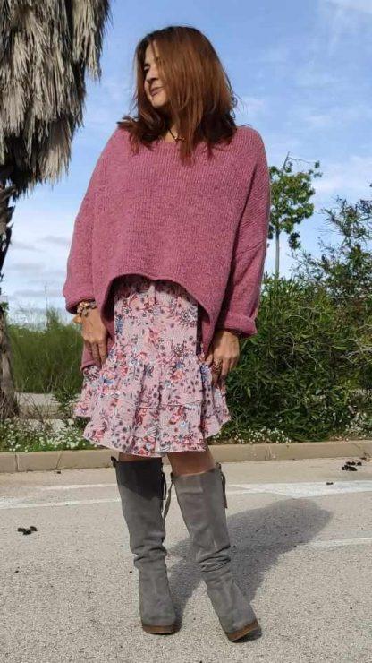 moda boho chic La Loca Púrpura