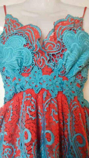 Vestido Antica Sartoria La Loca Púrpura