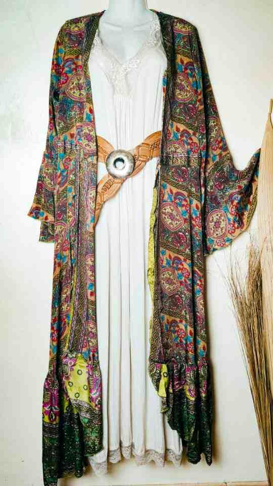 Vestido Kimono boho La Loca Púrpura