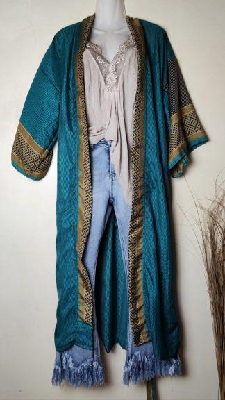 Kimono seda india La Loca Púrpura